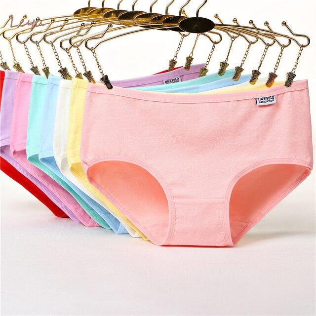 28fe4a8c1 Nuevas bragas mujeres Niñas Ropa Interior de algodón Ropa Interior Sexy  Panty transparente Visavis Ropa Interior