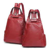 8801 Europe And America New Fashion Lady Bag Cowhide Leather Shoulder Bag Ladies All Match Women