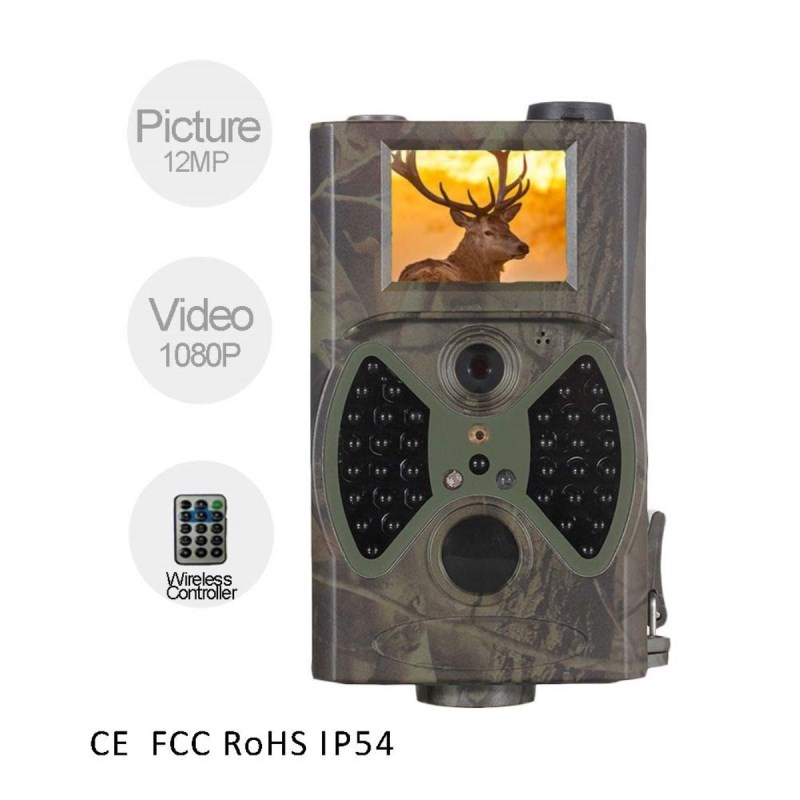 Camouflage Camera HC-300A Scouting Hunting Camera 12MP 1080p HD Digital Wildlife Trail Camera Infrared photo-traps for Hunting 940nm scouting hunting camera 16mp 1080p new hd digital infrared trail camera 2 inch lcd ir hunter cam