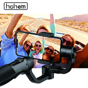 Image 2 - Hohem Smartphone Gimbal iSteady נייד בתוספת 3 ציר כף יד מייצב עבור iPhone 11X8 7 6 & Huawei & Xiaomi Smartphone