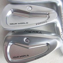 New Mens irons head HONMA TW717P Silver color Forged Golf heads set  4-11.Sw no shaft clubs head Free shipping