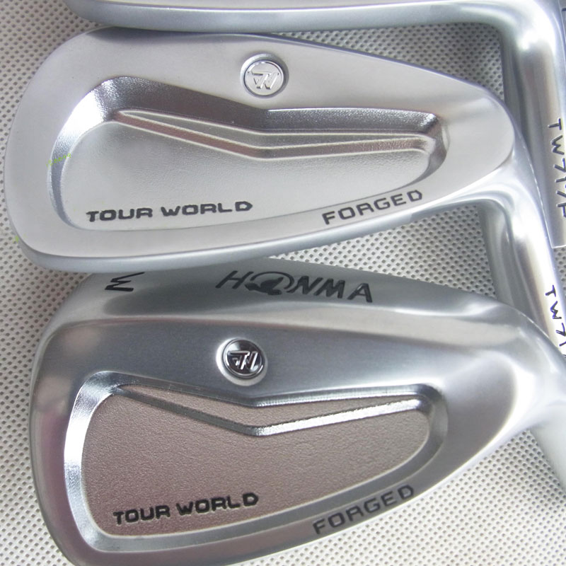 New Mens irons head HONMA TW717P Silver color Forged Golf heads set  4-11.Sw no shaft clubs head Free shipping new golf head romaro alcobaca tour stream forged carbon steel golf wedge head have 50 56 58 deg loft no golf shaft free shipping