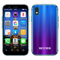 SOYES XS small mini 4G smartphone support Google play 3GB +32GB 2GB+16GB 3.0 mobile phone android 6.0 Unlock Dual sim Face ID