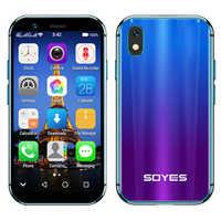 Soyes xs Google play 4G smartphone 2GB 3GB di RAM 16GB 32GB di ROM 3.0 piccolo mini mobile phone android 6.0 Dual sim Unlock Viso ID