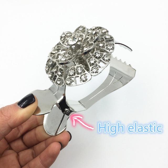Exklusive design Europäischen stil Kristall Vorhang Clips Quaste