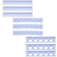 Купить с кэшбэком Jewelery Storage Hooks Adhesive Paste Hanger Rack Ornaments Display Sticky Hook Y4QB