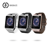 Купить с кэшбэком Sograce DZ09 Smart Watch Men Women Call Reminder Sleep Tracker Camera Waterproof Touchscreen Wrist Watches Android 2019