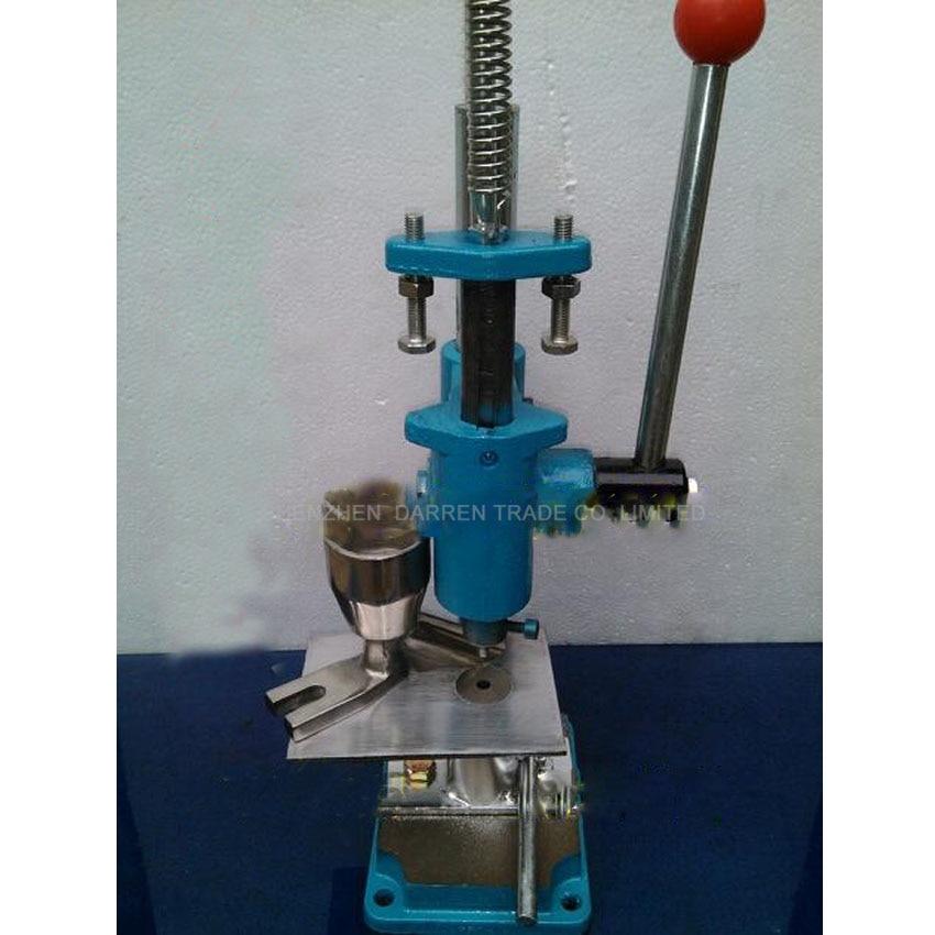 Push Type Hand punch tablet press machine, TDP-0 laboratory medicine, herbal powders tableting machine, pill stamping machine