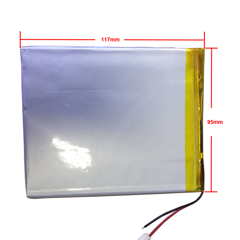 9 10 Inch Large Capacity 3.7 V Tablet Battery 6000 Mah Each Brand Tablet Universal Rechargeable Lithium Batteries 3295117