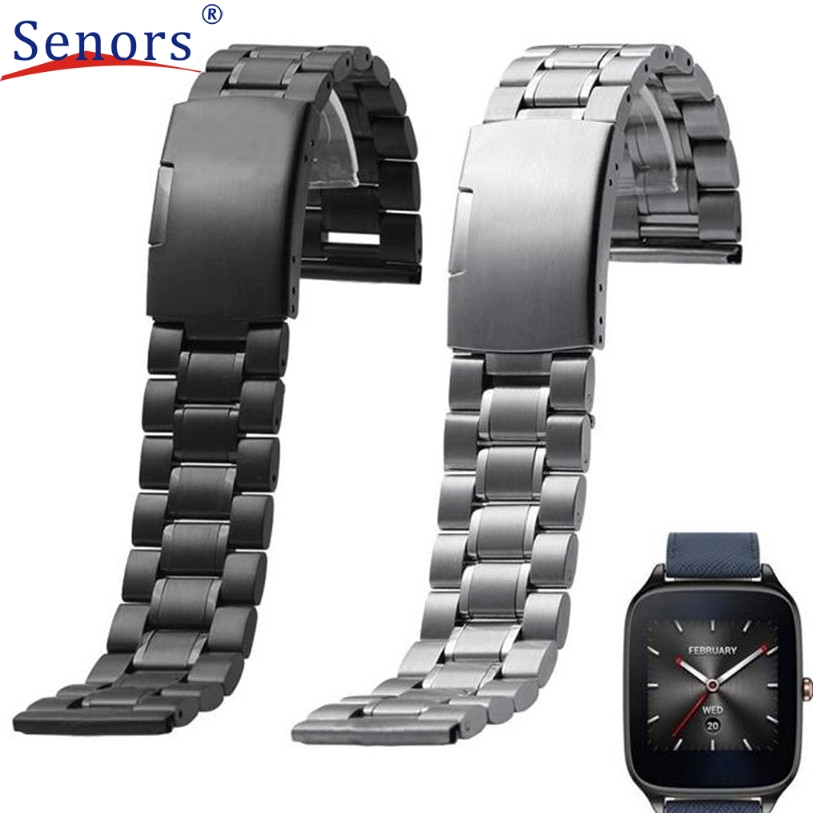 Superior Woman Stainless Steel Release Watch Band Strap for ASUS ZenWatch 2 WI502Q J6222