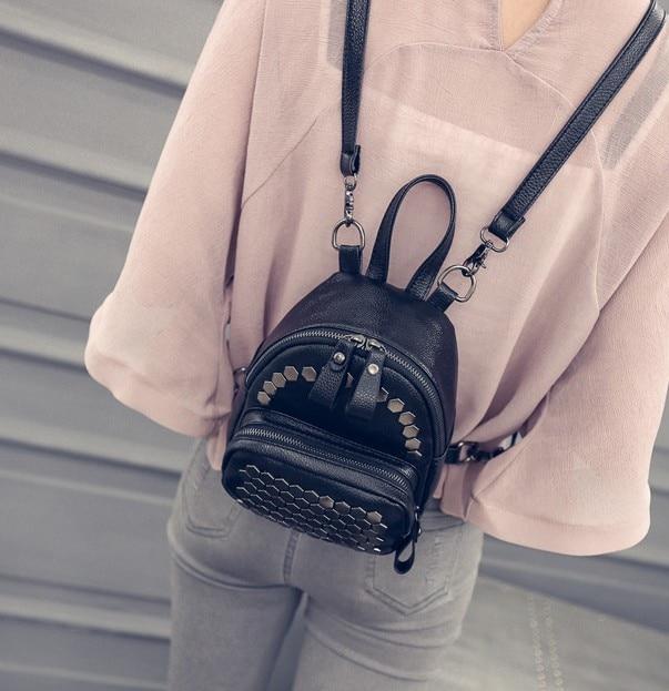 624f26e70d99 New Sale Fashion Woman Girl Bags Stylish Shopping Handbag High Quality  Famous Brand Holiday Gift Hot Sale Rivet Shoulder Bag