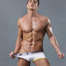 2017 Новый Бренд Мужской Underwear Боксер Шорты Хлопок Твердые Удобные Мужчины Cueca Мягкие Трусы Высокое Качество Sexy Underwear Мужчин H52