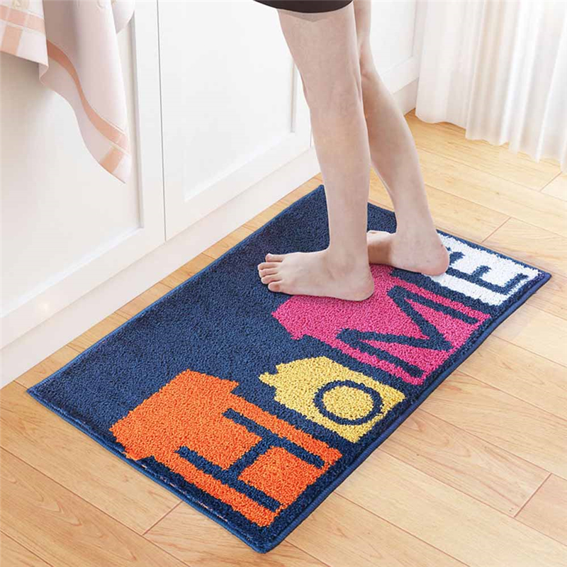 Door Mat Outdoor Rug Print HOME Bathroom Kitchen Anti-slip Floor Carpet Indoor Doormat Home Entrance Mats