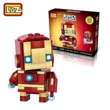 LOZ Iron Man blocks ego nero legoe star wars duplo lepin brick minifigures ninjago guns duplo farm castle super heroes playmobil