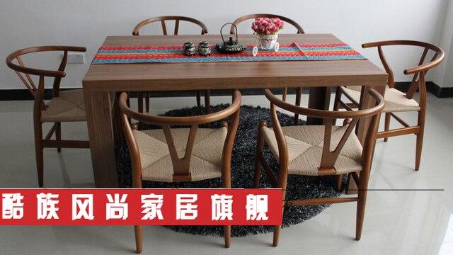 Moderne houten eettafel stoelen bijpassende stijlvolle eenvoud y y