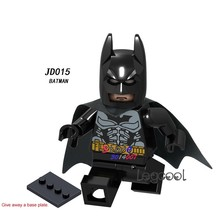 1PCS model building blocks action superheroes Batman learning Dolls Collection diy toys for children gift(China)