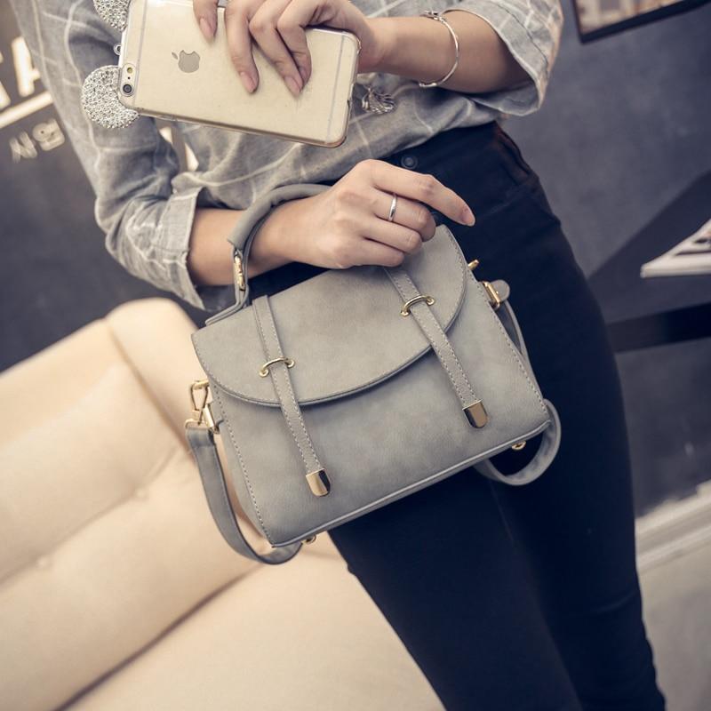 Nuevo llega la moda mujeres PU Messenger Bags Cross Body medio - Bolsos