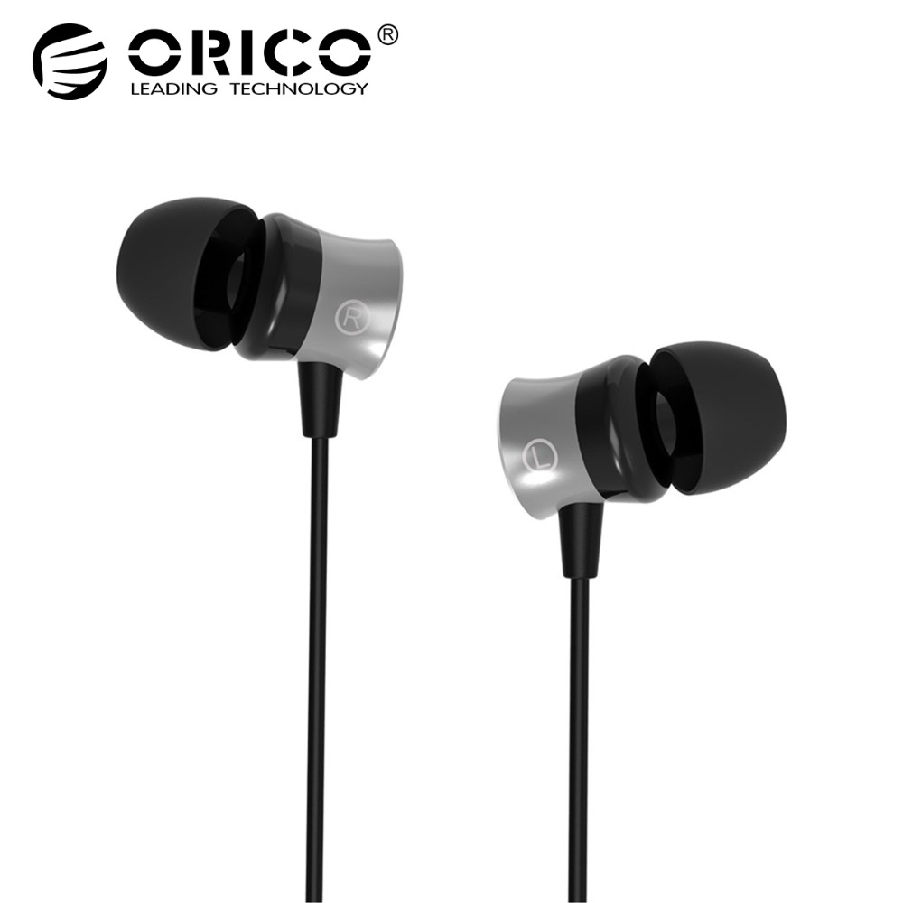 ORICO IEM In-Ear Earphone With Control Button 35mm Earphone Widely Compatible Headset with Mic For Phone Call Listen to Music