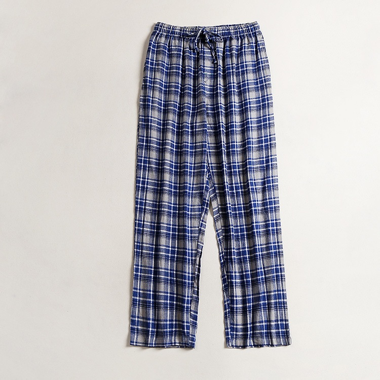 Free Shipping,Brand Sleep Bottoms,Eur Plus Size.men Soft Cotton Pajama Pants,trousers Home,homme Casual Plaid Pants,quality.