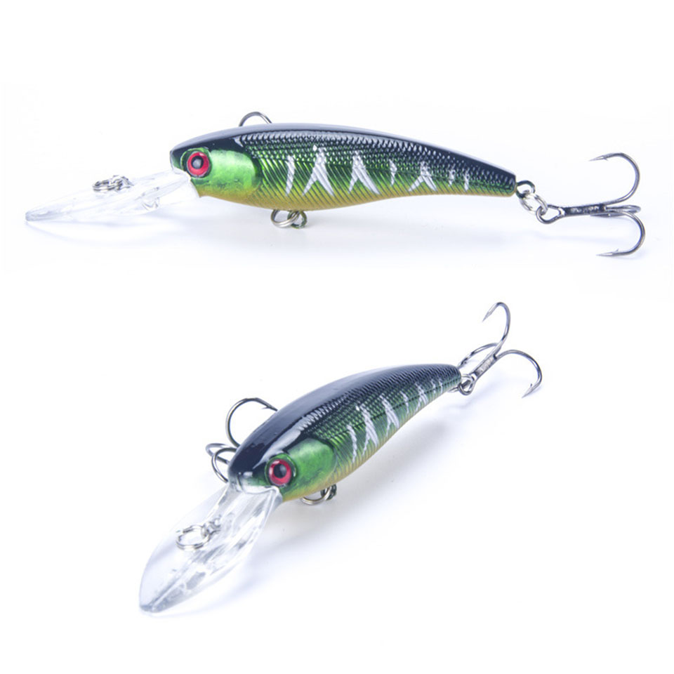 1PCS 9cm 8g Deep Swim Fishing Lure Hard Crank Bait  CrankBait Wobble Minnow Fishing Wobbler Japan crankbait fishing lure 112mm 14g hard bait wobbler crank bait minnow lure 1 2 3 5m artifical peche with treble sharp hook