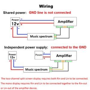 Image 3 - VFD FFT Music Spectrum Level Audio Indicator rhythm LED Display VU Meter Screen OLED For 12V 24V car Amplifier Board