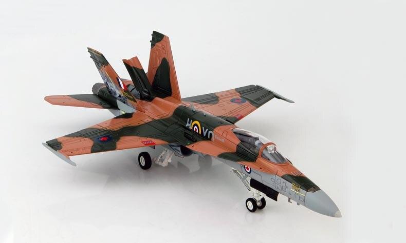 rare HOBBY MASTER 1/72 CF-18A F18 Hornet fighter model Battle of <font><b>Britain</b></font> Memorial Painting HA3526 Favorite military model