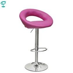 ¡Novedad de 94373! Taburete de Bar giratorio de cocina de cuero N-84 Barneo, silla de Bar de color rosa, envío gratis en Rusia