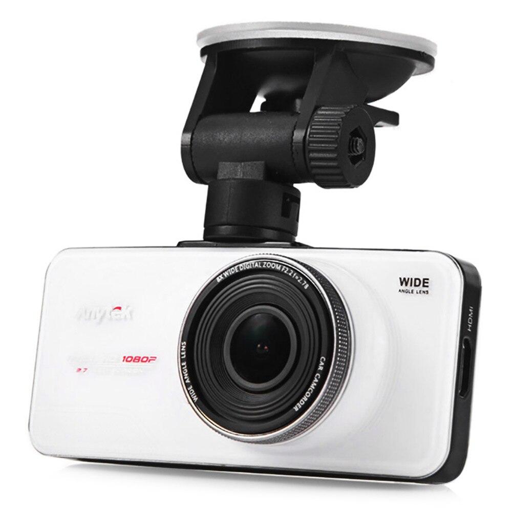 Anytek AT66A Auto DVR 2,7 zoll TFT Full HD Novatek 96650 Auto Kamera Recorder mit Russische Version 1080 p/170 grad Dash Cam