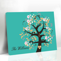 Framed Wedding Guest Book Alternatives Fingerprint Tree Signature Canvas Printings Engagement Anniversary Gifts Family Tree
