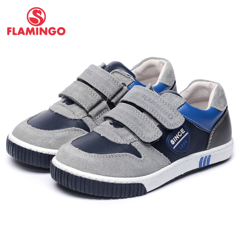 FLAMINGO 2017 New Arrival Spring & Autumn sneakers for boy Fashion High Quality children shoes 71P-XY-0074