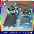 200x200mm Tamaño Máquinas de Impresión de Pantalla Nuevo Tipo de Alta Precisión Handprint ScreenPress Manual SMT Stencil Máquina de Huellas Dactilares