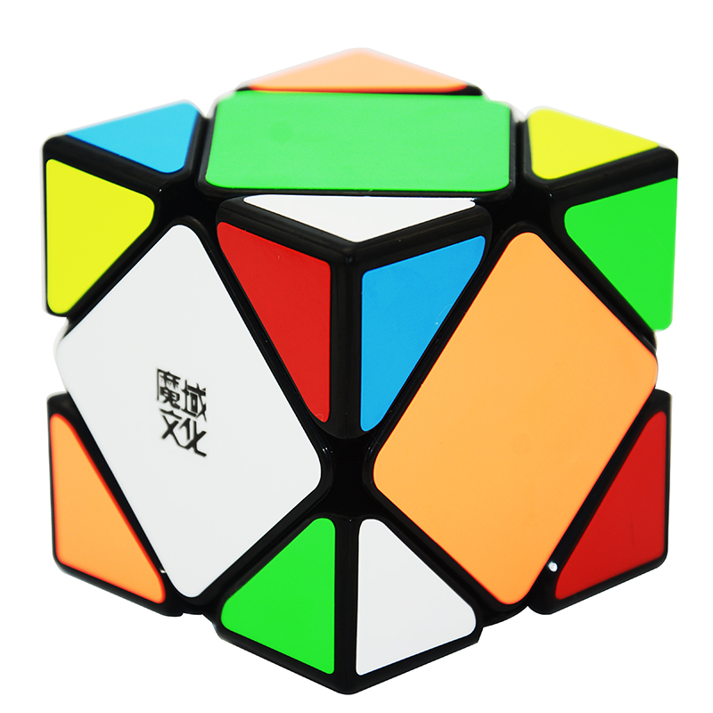 Moyu Magic Cube Magnetic Skewb Speed Educational Toy Special Toys For Children Black/Stickerless special educational needs provision