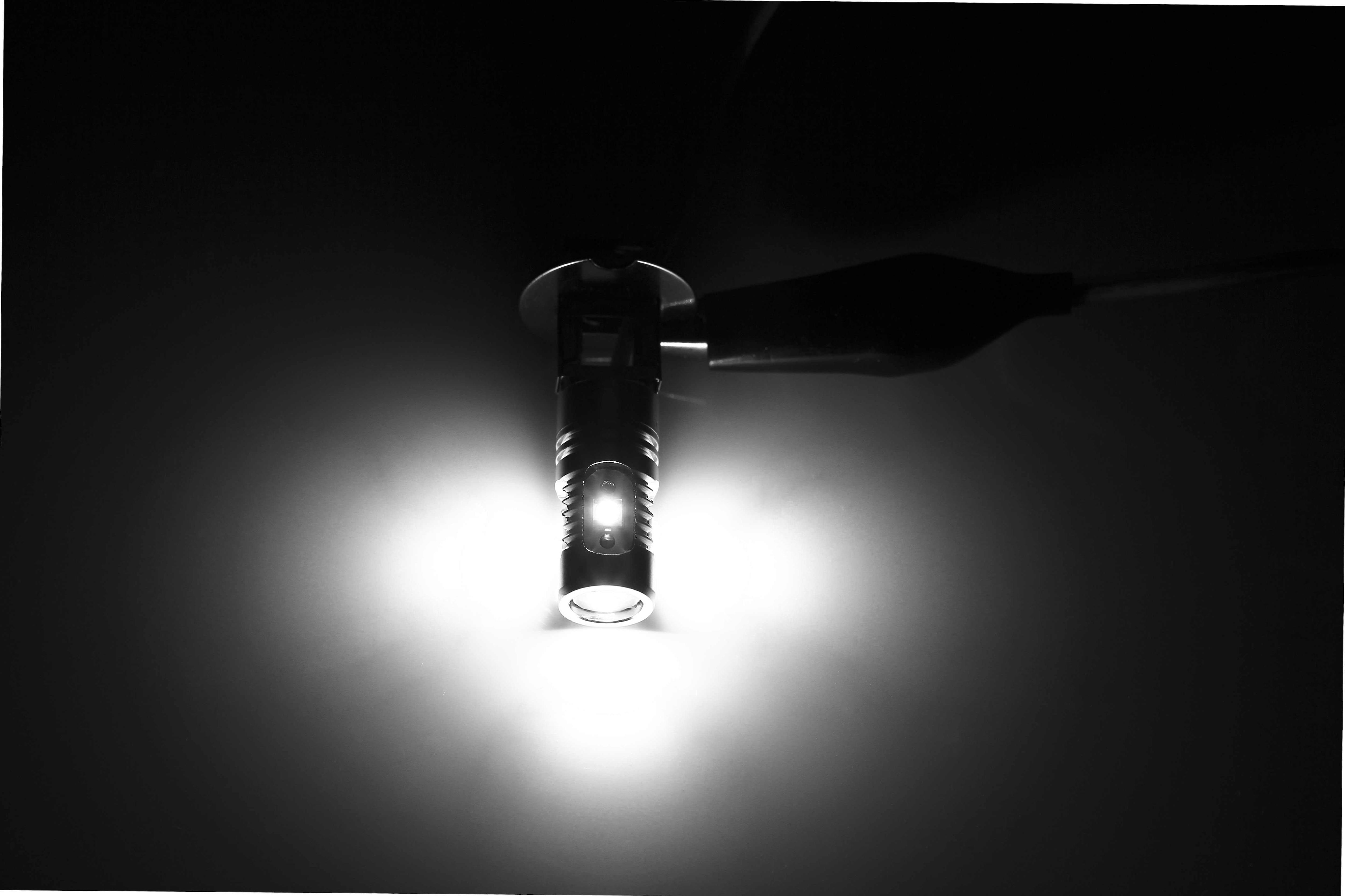 2 шт. H3 25 Вт светодиодный чипы белые автомобили Противотуманные фары лампы авто лампа сигнал для транспорта задние фары автомобиля