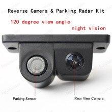 hot sell Auto Rear View Camera LCD Car SUV Reverse Parking Radar & Rear View Backup Camera Kit