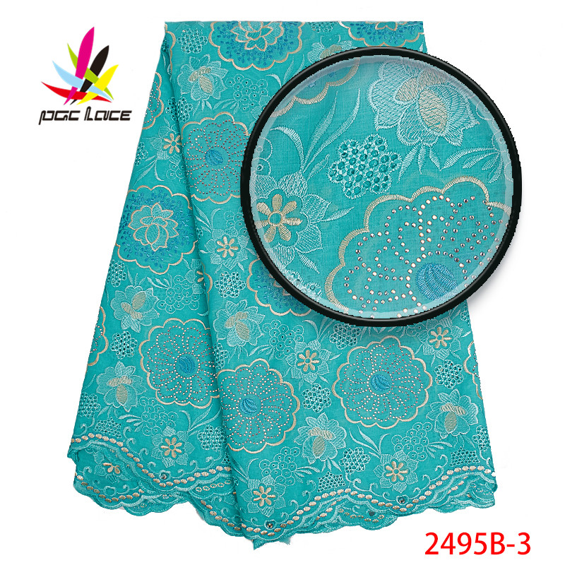 African Lace Fabrics 2019 Lowest Price Swiss Voile Lace In Switzerland High Quality Nigerian Embroidered Lace