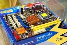 Free shipping 100% original motherboard for Asus P5QPL-AM G41 DDR2 LGA 775 Integrated graphics Desktop Motherboard