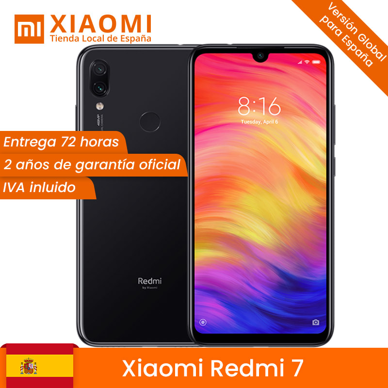 Global Version Xiaomi Redmi 7 3GB RAM 32GB ROM Mobile Phone Snapdragon 632 Octa Core 12MP 6.26 4000mAh Battery image