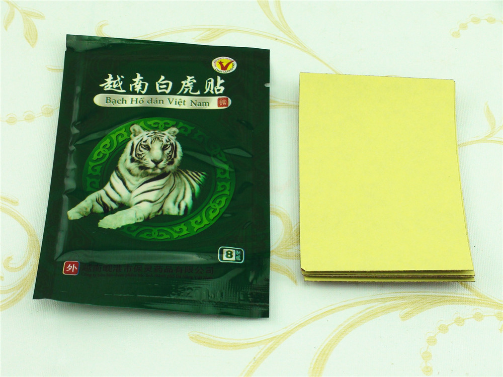 104 Pcs Vietnam White Tiger Balm Patch Cream Body Neck Massager Meridians Stress Pain Relief Arthritis Capsicum Plaster C161 17
