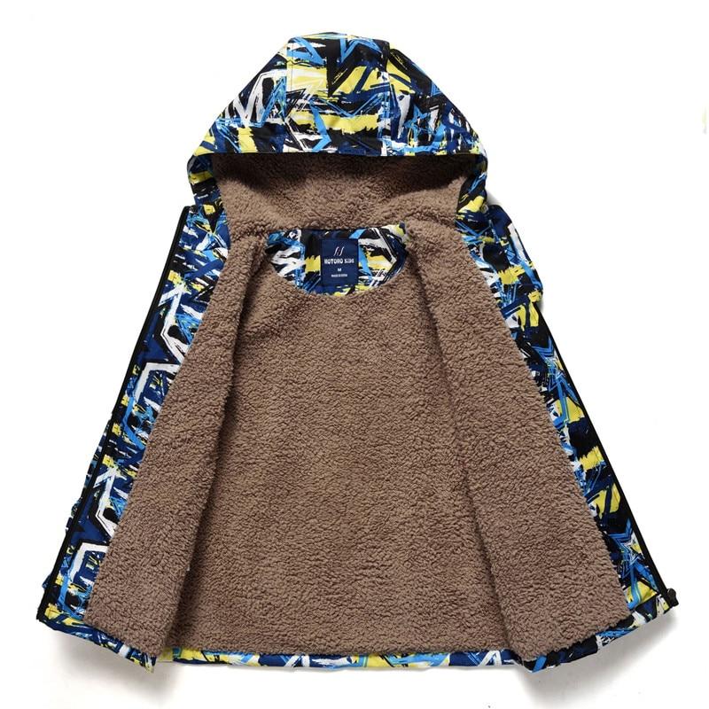 Kids Coat Jacket Windbreakers Spring Autumn Thick Baby-Boys Waterproof Winter Warm New
