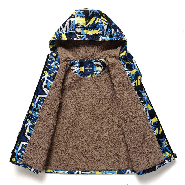 Hooded Winter Coat for Boys