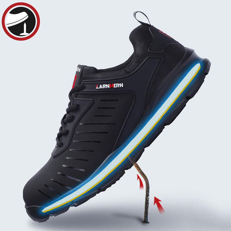 Men's Boots Back To Search Resultsshoes New Fashion Larnmern Men Work & Safety Shoes Steel-toe Caps Anti-puncture Security Shoes Breathable Boots Working Footwear Reflective Stripe Bracing Up The Whole System And Strengthening It