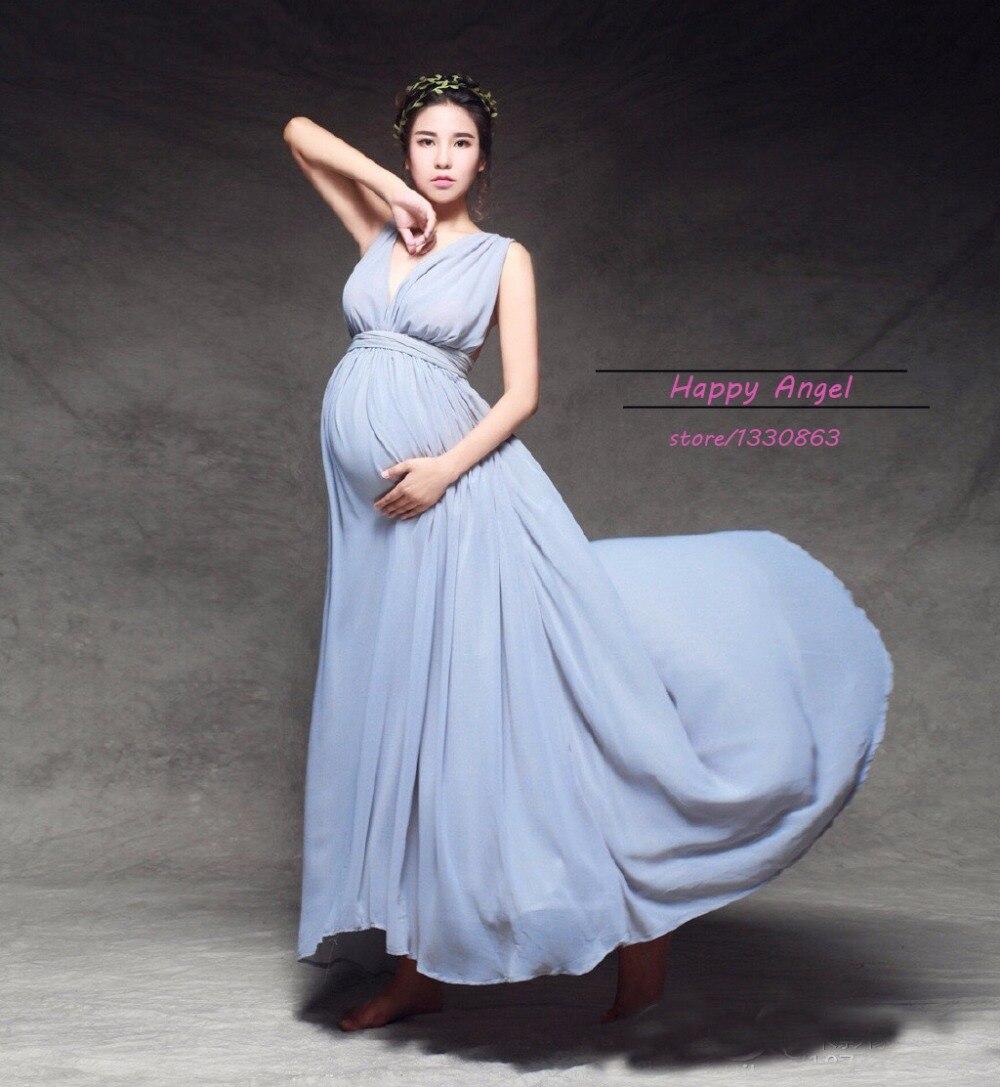Елегантни майчинство бременни жени - Бременност и майчинство - Снимка 2
