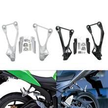 Tylne podnóżki motocyklowe podnóżki dla KAWASAKI Ninja ZX6R 2005-2008 ZX636 2005-2006