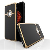 Shockproof Rubber Hybrid Case For IPhone 5 5s Se 6 6S Plus 7 Fashion Cover Full