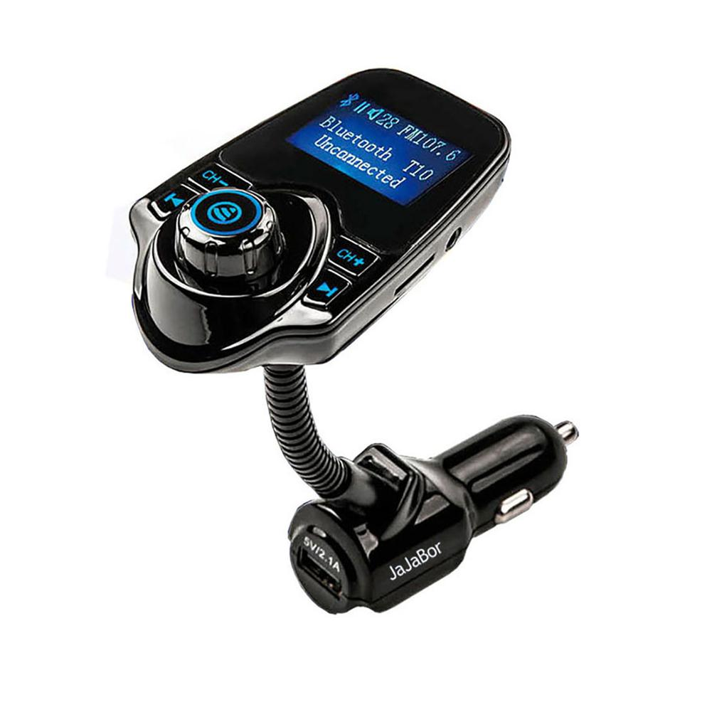 T10 Car Bluetooth Hands-free MP3 Music Player Transmissor FM Dual USB Carregador de Carro Transmissor FM