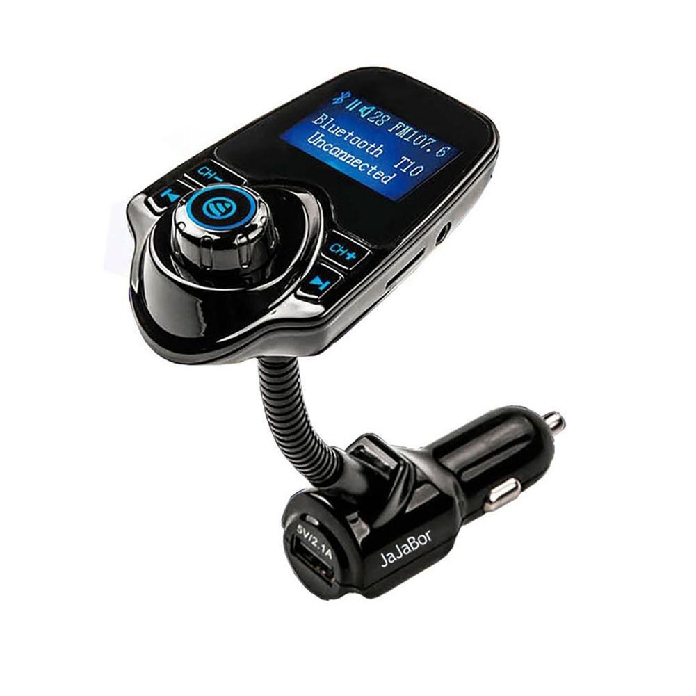 T10 Car Bluetooth Hands-free MP3 Music Player Transmissor FM Dual USB Carregador de Carro Transmissor FM