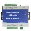 8 входов RTD Ethernet сетевое удаленное ввода/Вывода модуль ввода-вывода 12 ~ 36VDC анти-обратный Modbus tcp-сервер 1 RS485 встроенный сторожевой M340T