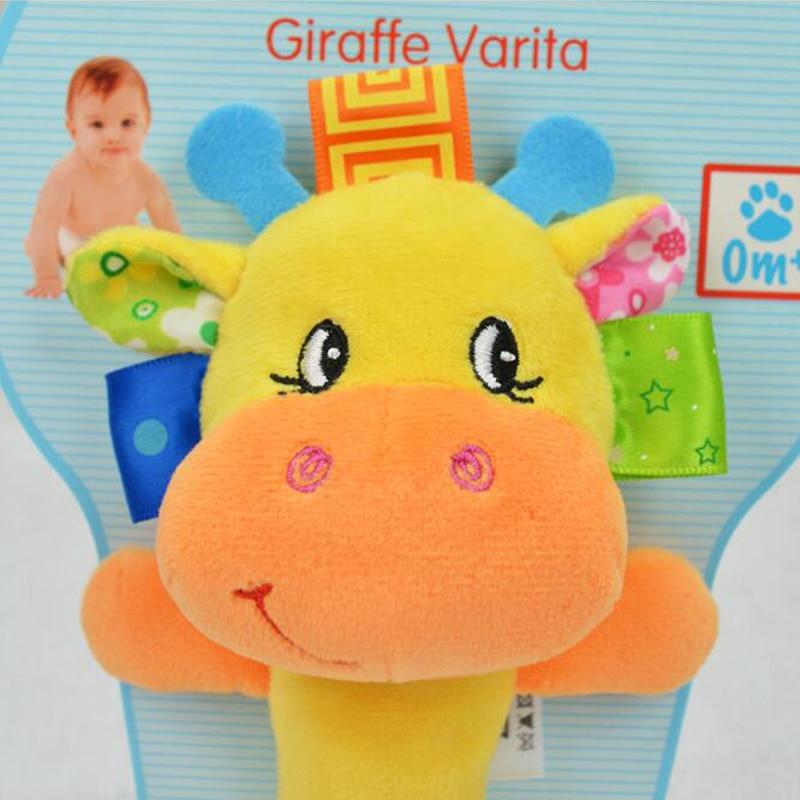 Nieuwe Baby Speelgoed Baby Multifunctionele Hand Bel Met Rammelaar - Speelgoed voor kinderen - Foto 6