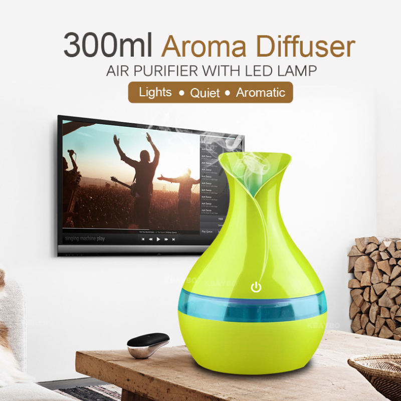 New Aroma Essential Oil Diffuser 300ml USB Mini Ultrasonic Air Humidifier Sleep Good Aromatherapy Mist Maker for home officeNew Aroma Essential Oil Diffuser 300ml USB Mini Ultrasonic Air Humidifier Sleep Good Aromatherapy Mist Maker for home office