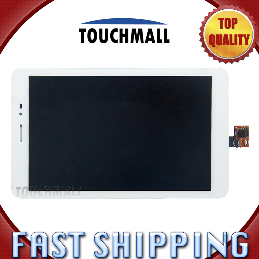 For New LCD Display Touch Screen Assembly Replacement Huawei MediaPad T1 8.0 S8-701U S8-701 White 8-inch Free Shipping